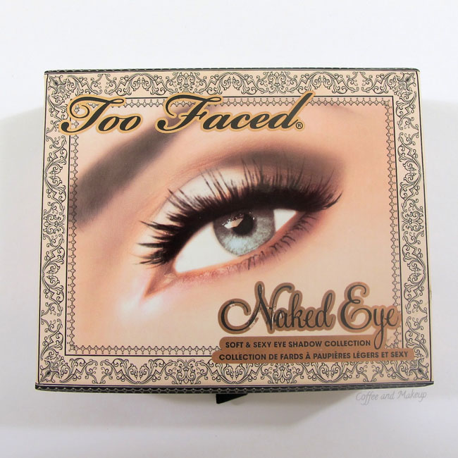 Too Faced Naked Eye Soft & Sexy Eyeshadow Collection