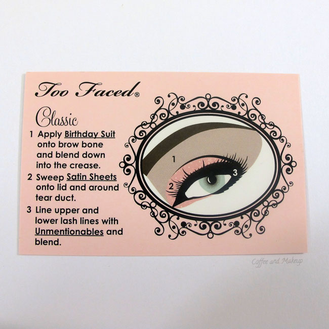 Too Faced Naked Eye Soft and Sexy Eyeshadow Collection Classic Look