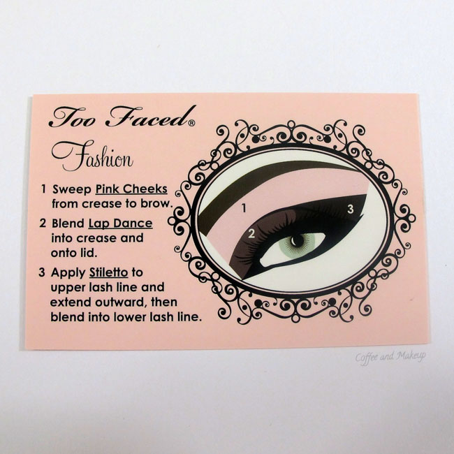 Too Faced Naked Eye Soft and Sexy Eyeshadow Collection Fashion Look