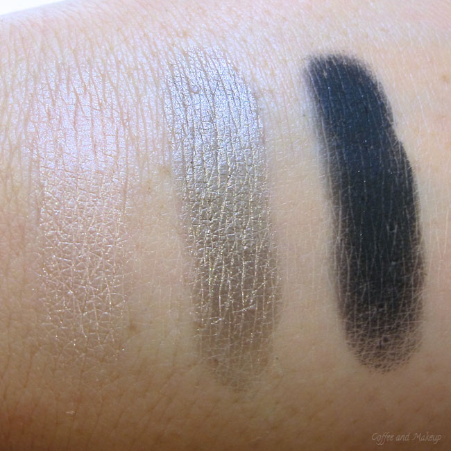 Too Faced Naked Eye Soft & Sexy Eyeshadow Collection Swatches