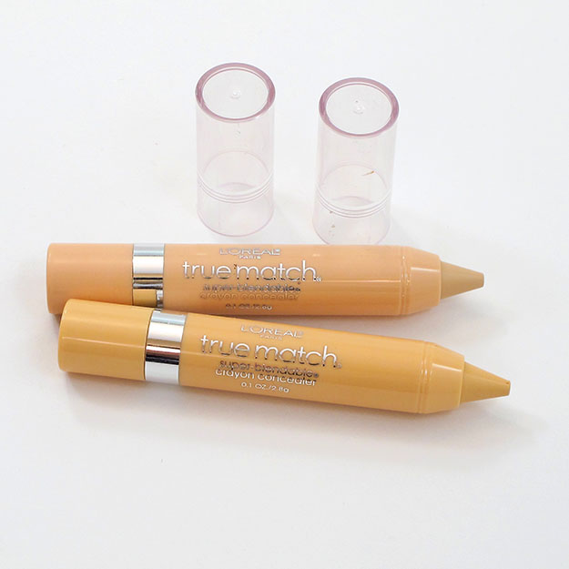 Loreal True Match Super Blendable Crayon Concealers
