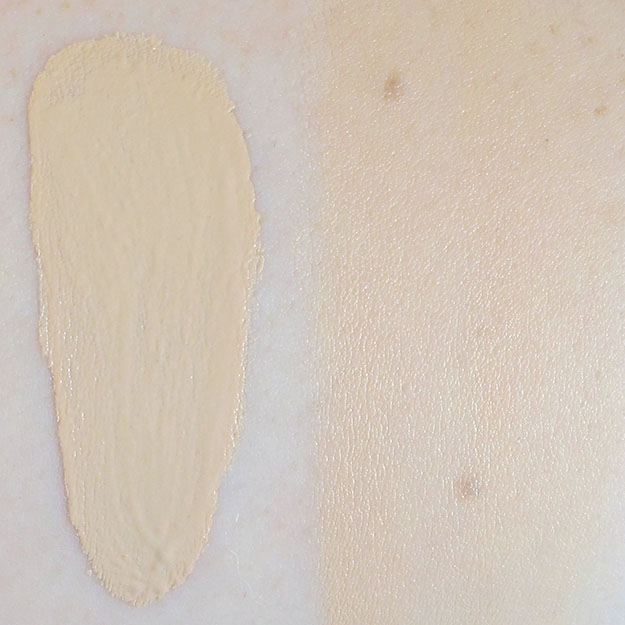Maybelline Dream Liquid Mousse Foundation in Porcelain Ivory Swatch