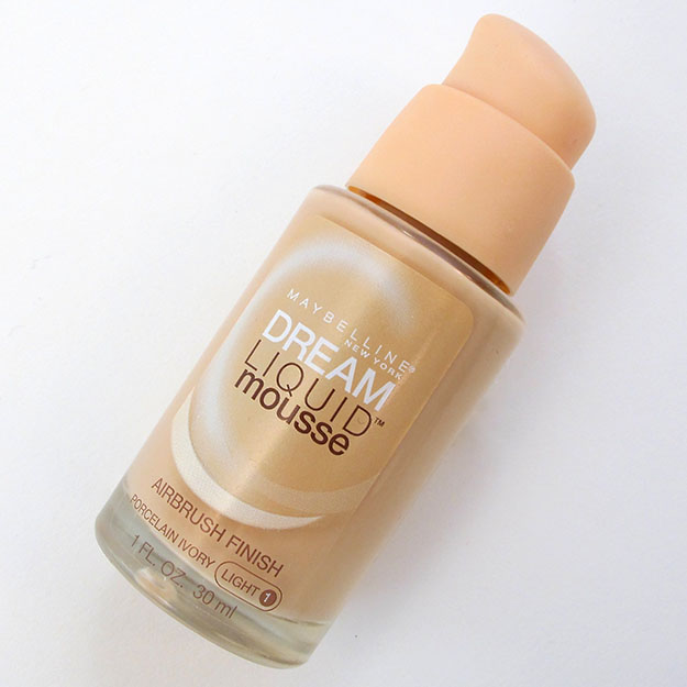 Maybelline Dream Liquid Mousse Foundation Review