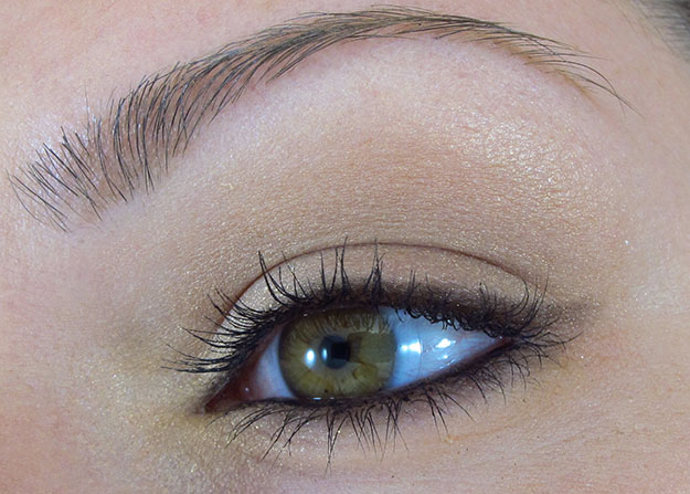 NYX Natural Eyeshadow Palette EOTD