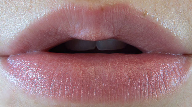 Revlon Lip Butter in Pink Lemonade On Lip Swatch