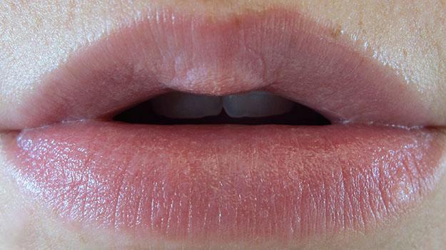 Revlon Lip Butter in Pink Lemonade On Lip Swatch