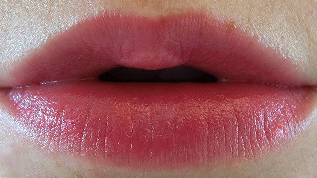 Revlon Lip Butter in Sorbet On Lip Swatch