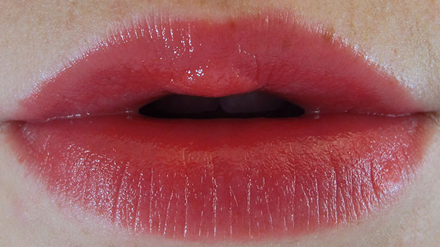 Revlon Lip Butter in Wild Watermelon On Lip Swatch