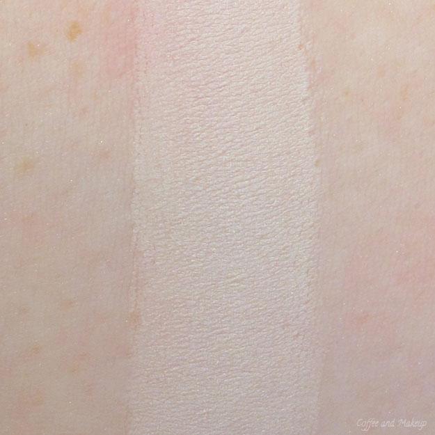 Lorac Pro Palette Cream Swatch