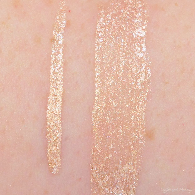 NYX Glam Nude Glam Liner Aqua Luxe Swatch