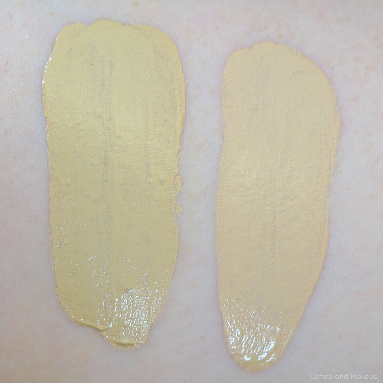 Covergirl Outlast Stay Fabulous 3-in-1 Foundation Swatch