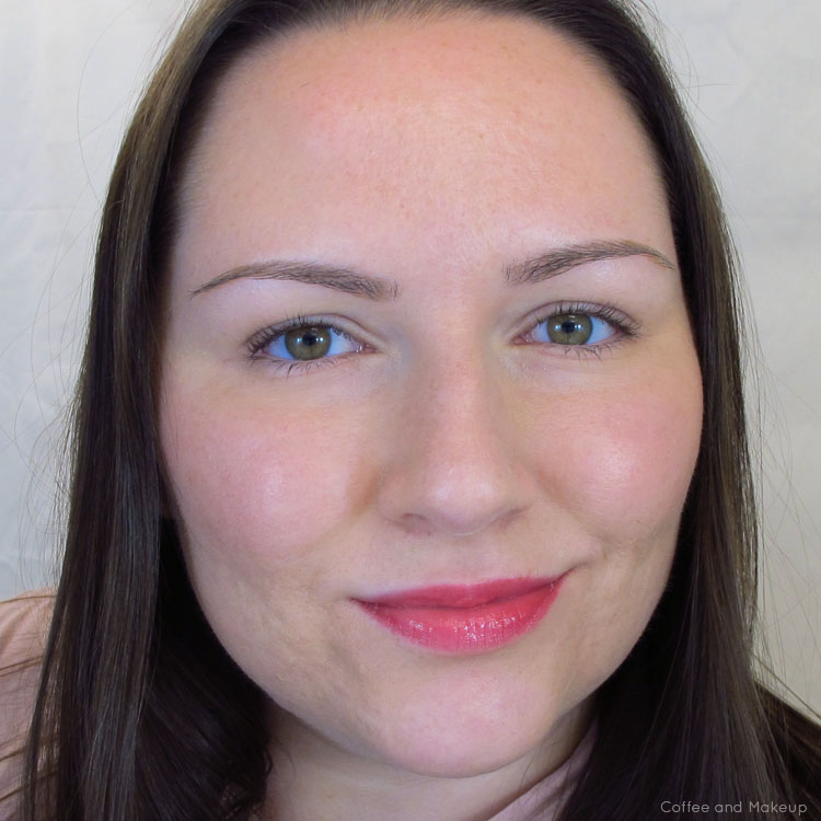 Wearing Sonia Kashuk Hint of Red Moisture Luxe Tinted Lip Balm