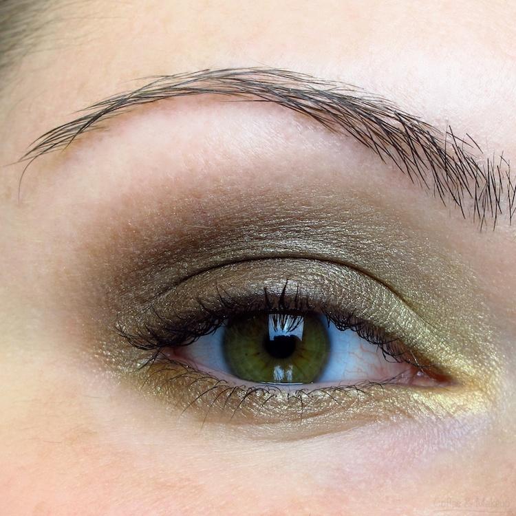 Maybelline Fall Temptation Plush Silk Eyeshadow EOTD
