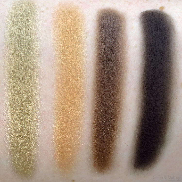 Maybelline Fall Temptation Plush Silk Eyeshadow Swatches