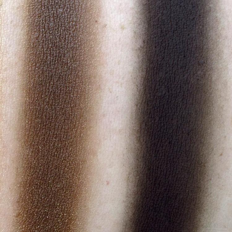 Maybelline Fall Temptation Plush Silk Eyeshadow Swatches