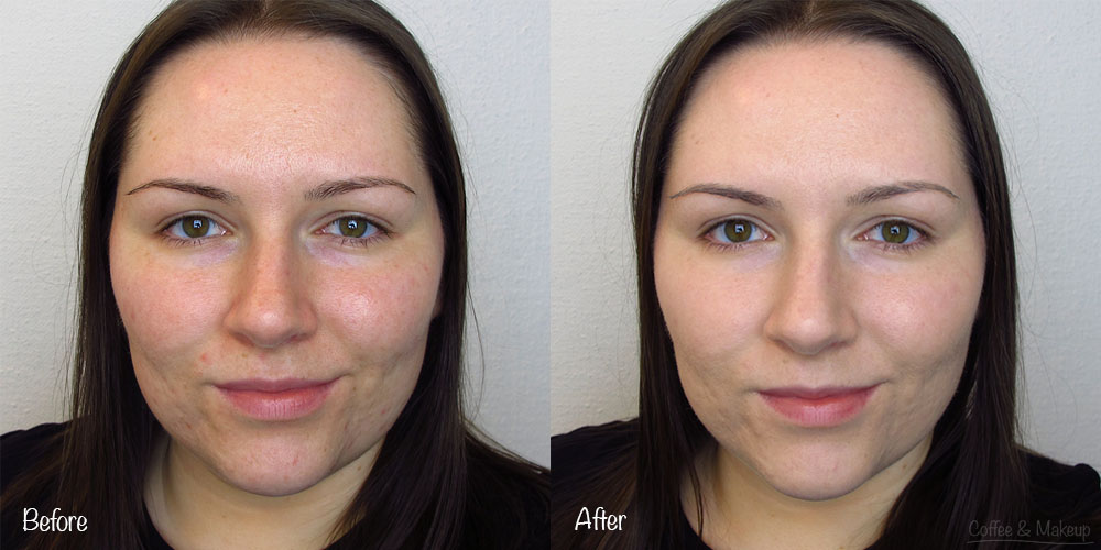 Kat Von D Lock It Tattoo Foundation Before and After
