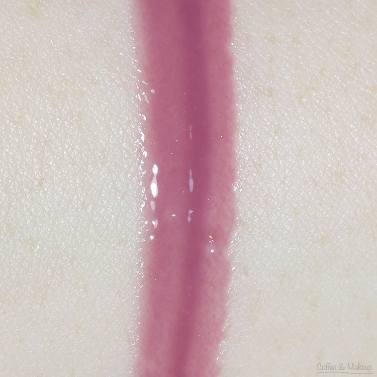 L'Oreal Purple Prelude Colour Riche Extraordinaire Swatch