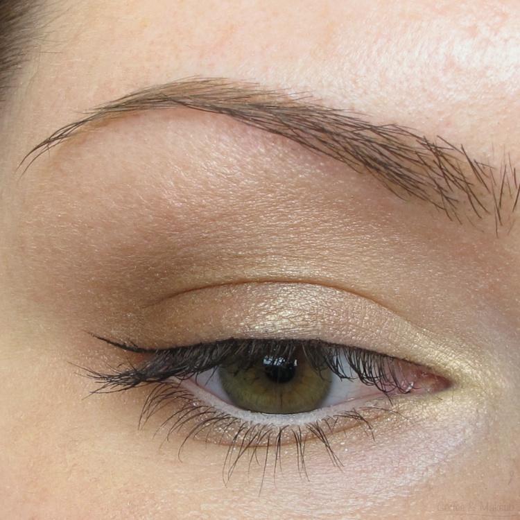 EOTD - Maybelline Bare It Buff Plush Silk Eyeshadow Quad