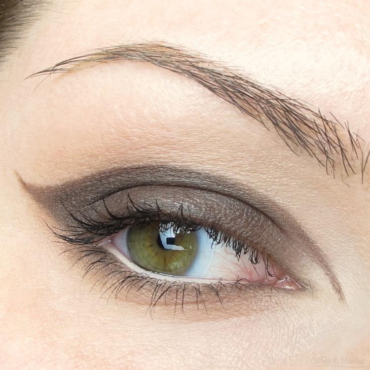 EOTD - Maybelline Nude Romance Plush Silk Eyeshadow Look