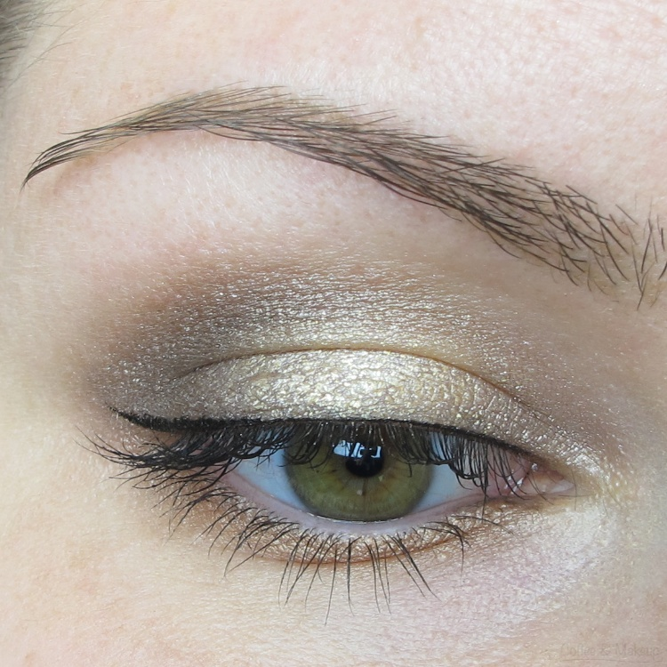 EOTD - Maybelline Spring 2014 Color Tattoo Eyeshadow Look #1