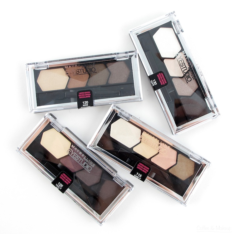 Maybelline Spring 2014 Eye Studio Color Plush Silk Eyeshadow Collection