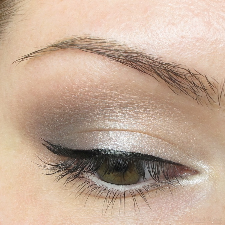 EOTD - Maybelline Taupe Tease Plush Silk Eyeshadow Look