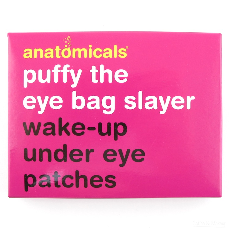 Anatomicals Puffy The Eye Bag Slayer Wake Up Under Eye Patches