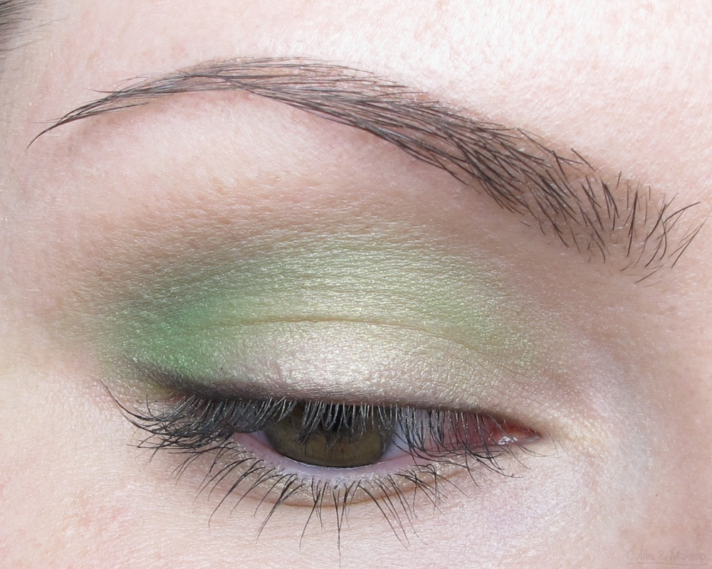 EOTD - Easy to Wear Green Eyeshadow Look