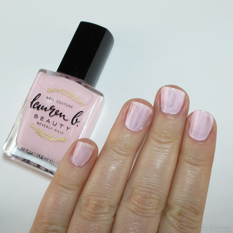 Lauren B. Beauty City of Angels Nail Couture Swatch - 1 Coat