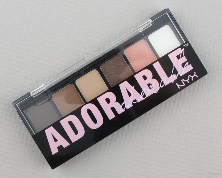 NYX Adorable Eyeshadow Palette Review and Swatches
