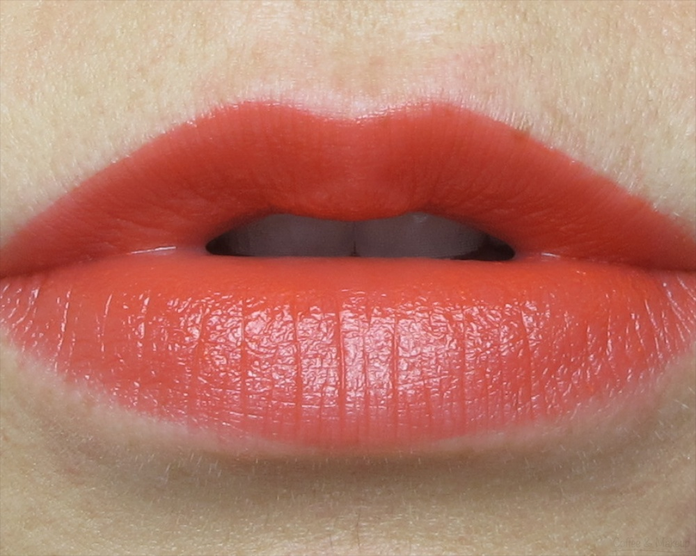 NYX Fireball Butter Lipstick Lip Swatch