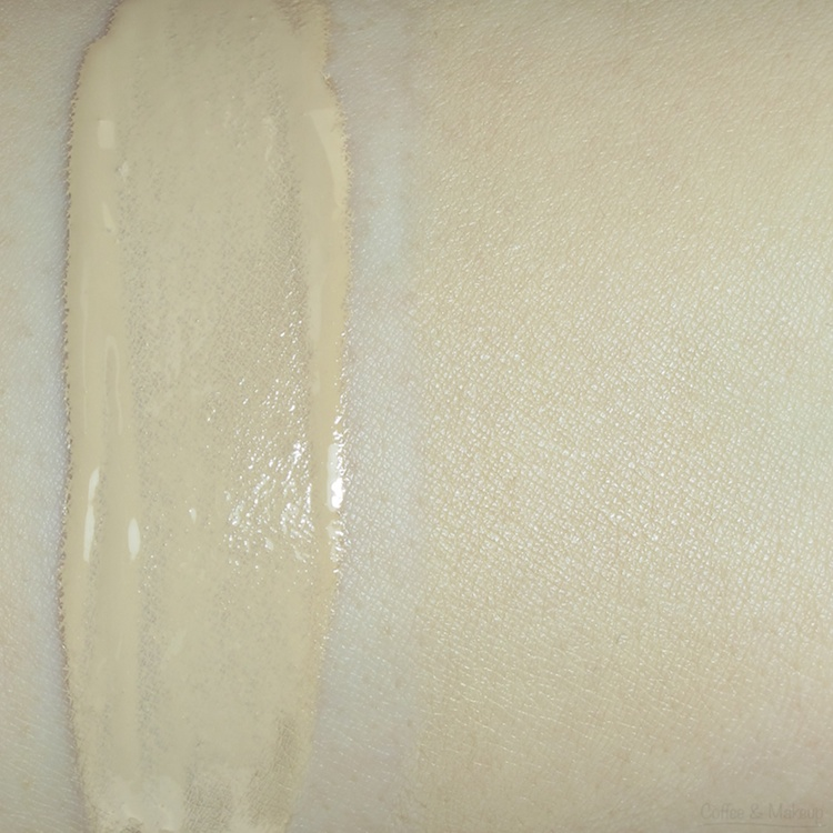 Urban Decay 1.0 Naked Foundation Swatch