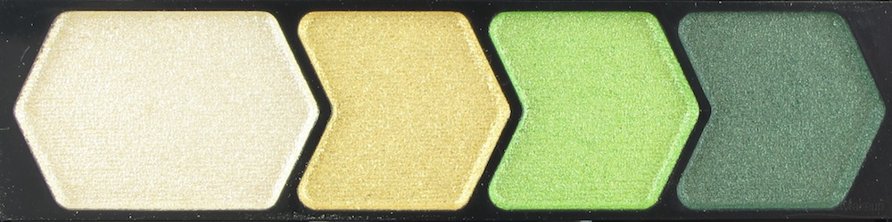 Maybelline Enticing Emerald Color Plush Silk Eyeshadow Quad