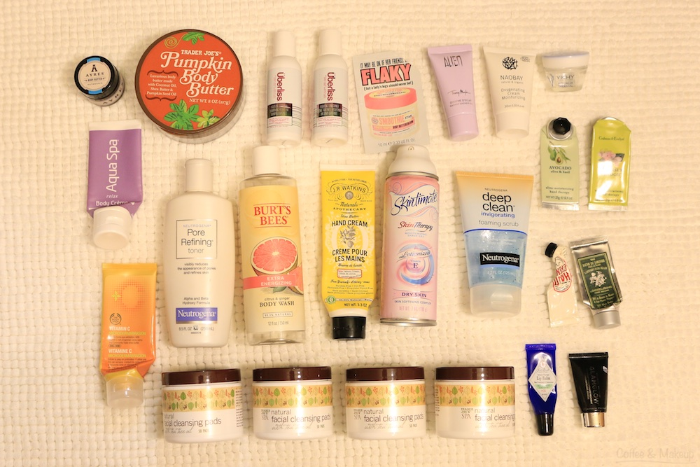 Fall 2014 Empties