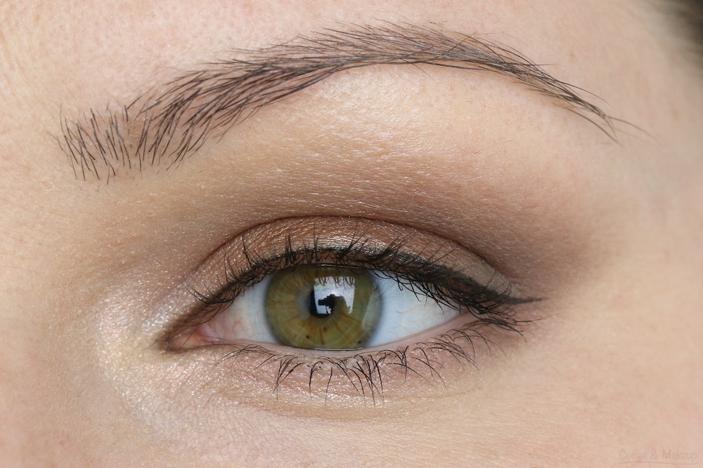 Maybelline The Nudes Palette Look