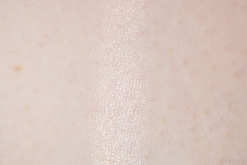 Maybelline The Nudes Palette Swatch - Top row, first on the left