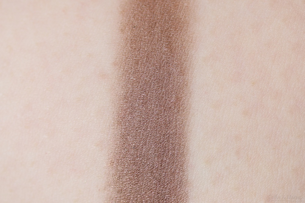 Maybelline The Nudes Palette Swatch - Bottom row, fourth shade from left