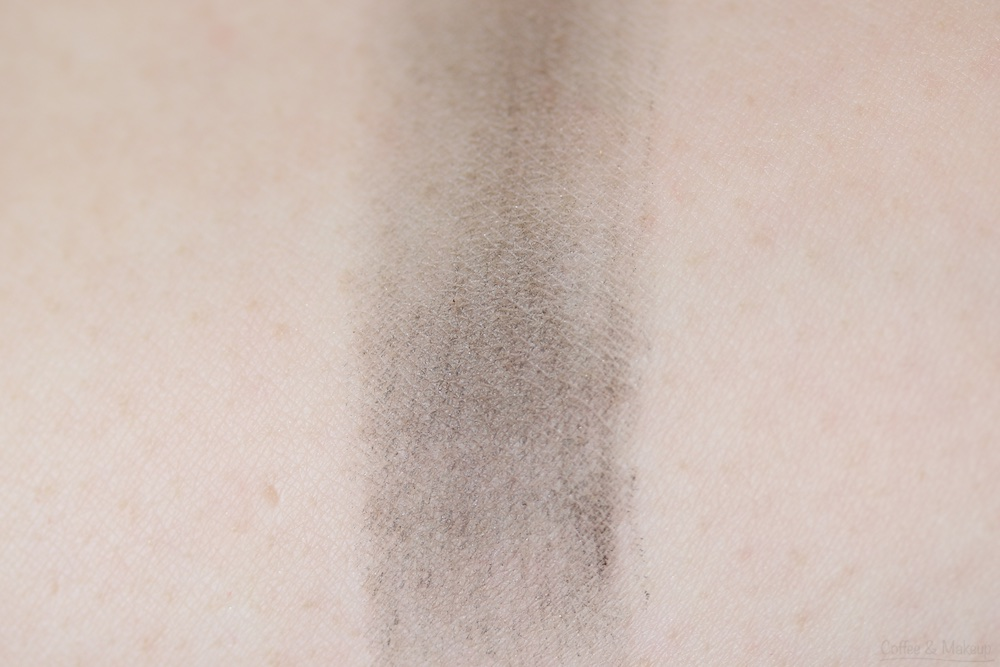Maybelline The Nudes Palette Swatch - Bottom row, last shade on the right