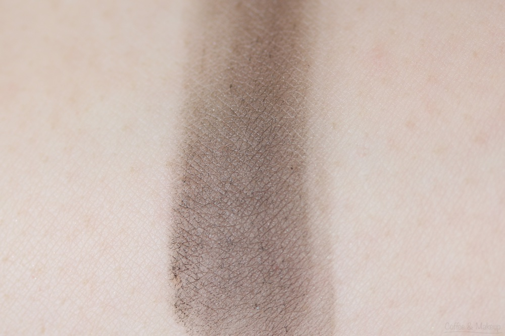 Maybelline The Nudes Palette Swatch - Top row, last shade on the right