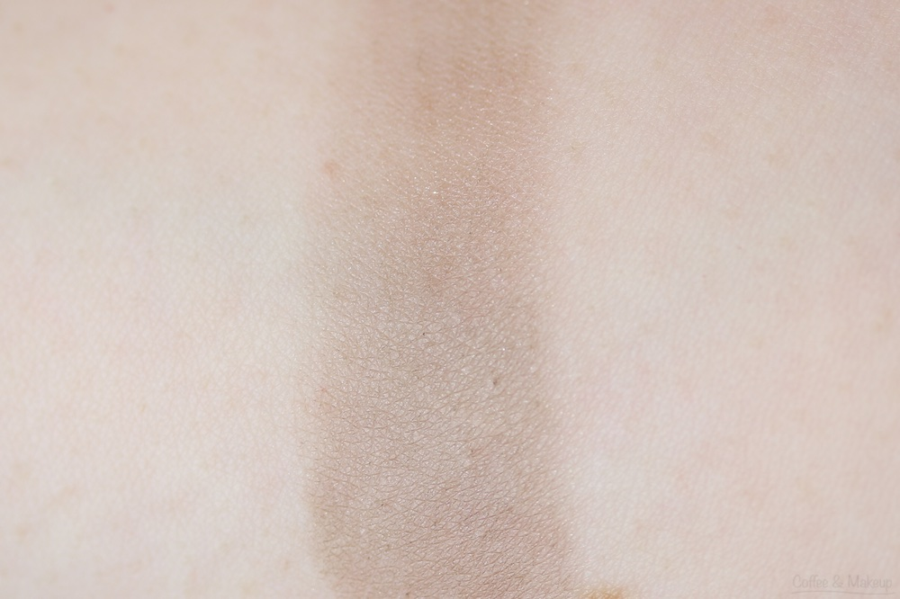 Maybelline The Nudes Palette Swatch - Bottom row, second shade from left