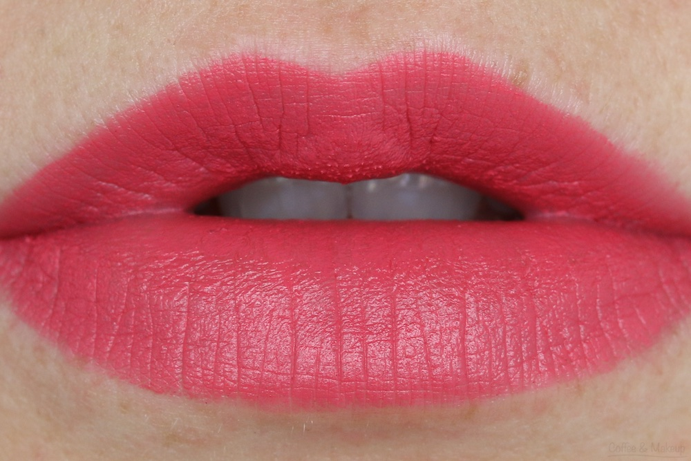 NYX Matte Lipstick Lip Swatch in Angel