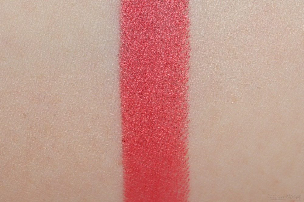 NYX Matte Lipstick Swatch in Angel