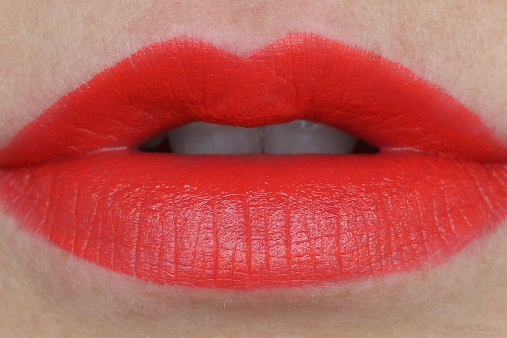 NYX Matte Lipstick Lip Swatch in Indie Flick