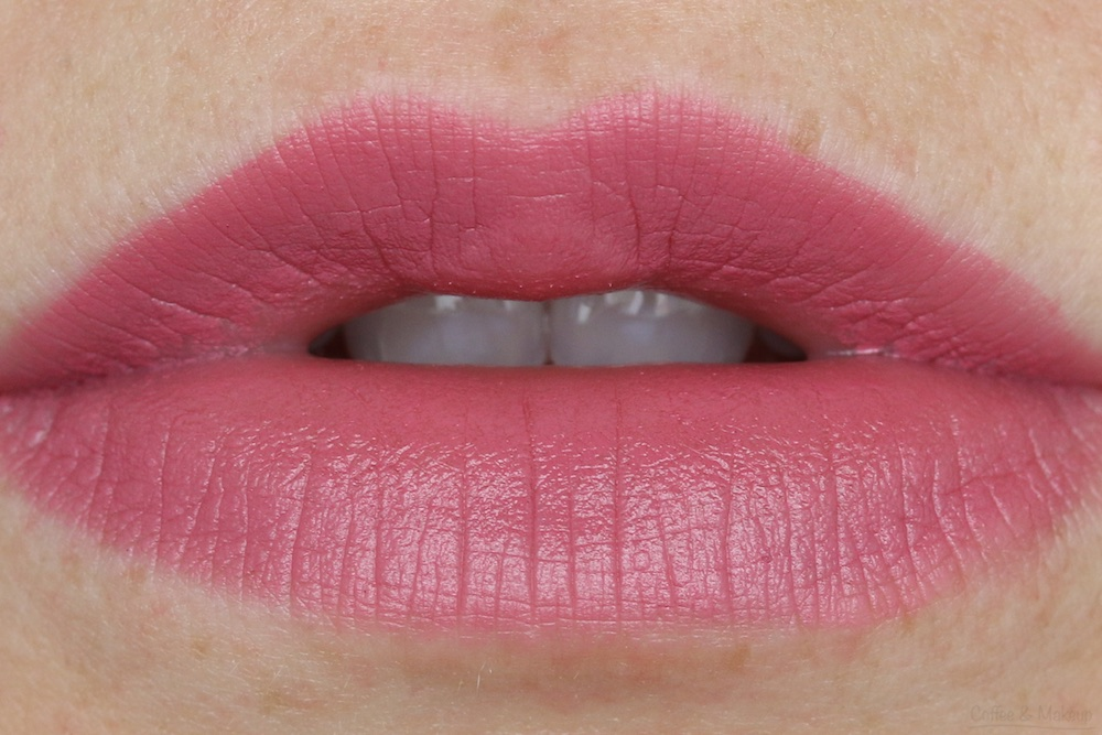 NYX Matte Lipstick Lip Swatch in Natural