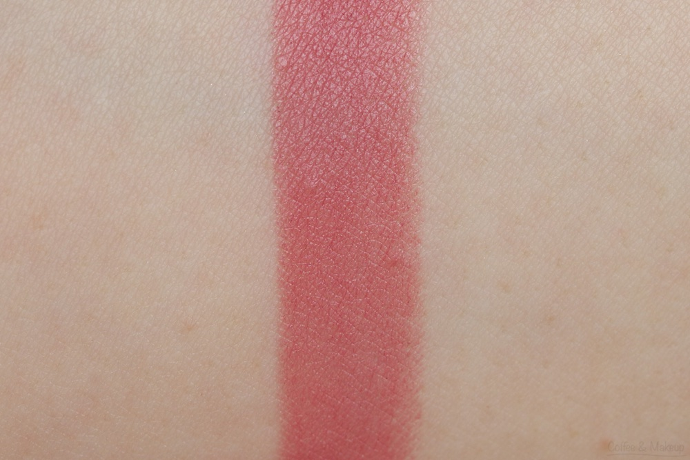 NYX Matte Lipstick Swatch in Natural