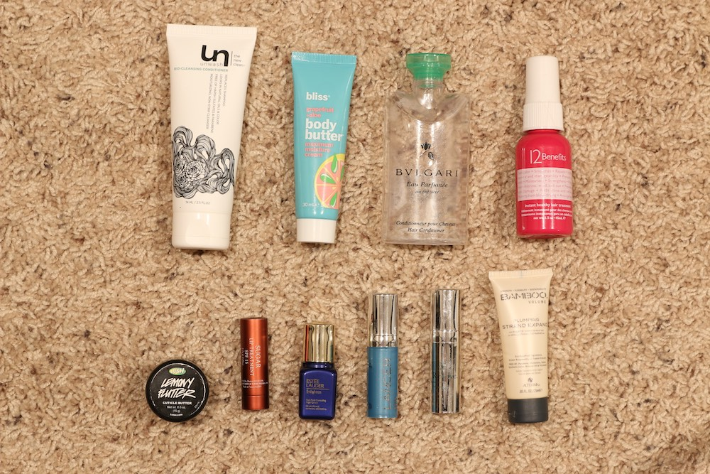 Deluxe Sample Empties | March - June 2015