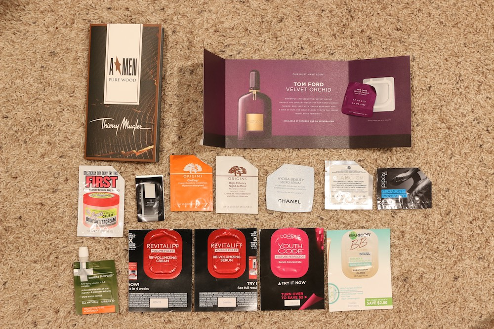 Foil Sample Empties | March - June 2015