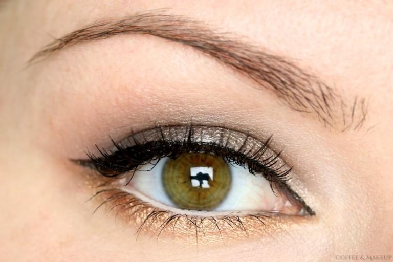Silver & Gold Eyeshadow Look