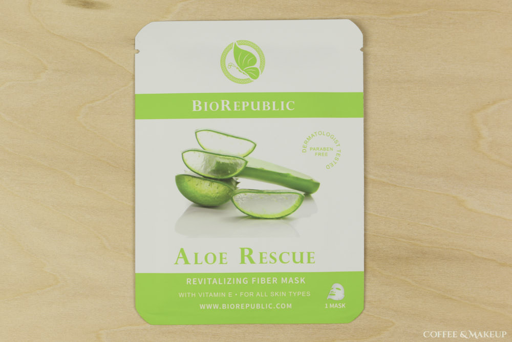 BioRepublic Aloe Rescue Revitalizing Fiber Mask