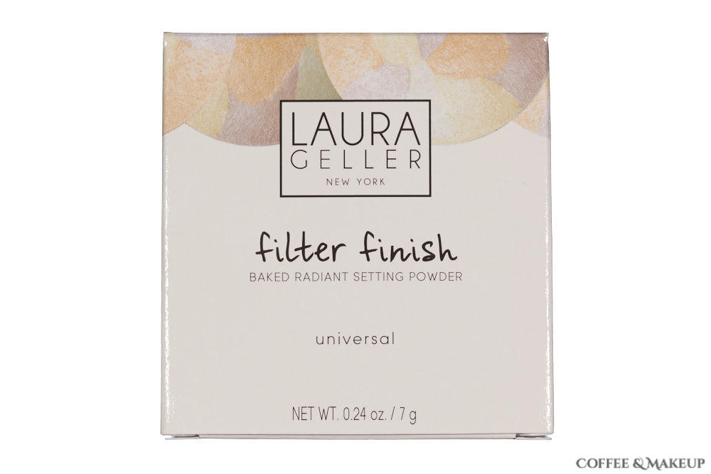 Laura Geller Filter Finish Setting Powder Packaging